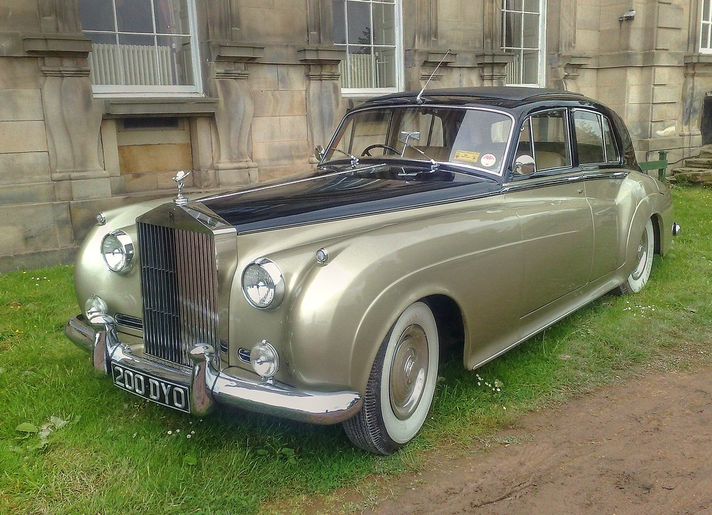 1957 Rolls Royce Silver Cloud I Wentworth Castle Barnsley Yorkshire