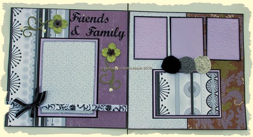 """Wedding"" 12x12 Custom Scrapbooking Album"