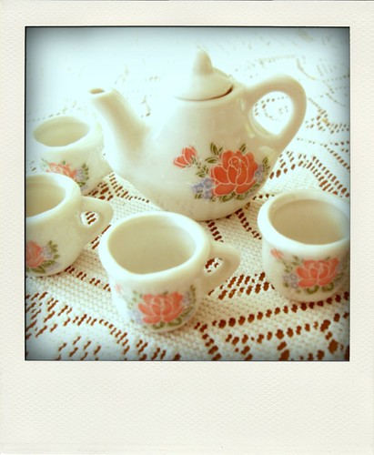 Let's drink some tea...