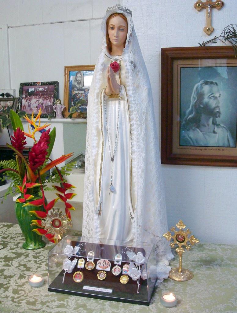 Pilgrim Statue Visitation / Holy Relics Speaking Presentation Event: Josol Family Residence, 06/07/2010