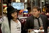 "Aldous (RUSSELL BRAND) and Aaron (JONAH HILL) in ""Get Him to the Greek"""