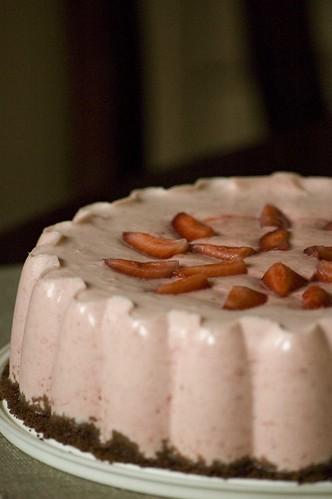 maasika-rabarbri tort