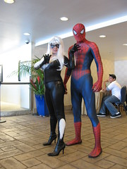 IMG_2378 (SF_SaSa) Tags: blackcat costume cosplay spiderman sasa winnieleung comiccon2009