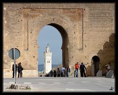 Bab el-Mahrouk (Jasen Robillard) Tags: minaret morocco medina fes bab feselbali babelmahrouk