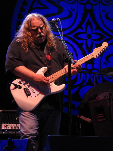 Warren Haynes on his Jimi guitar