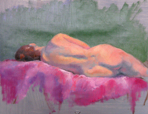 20100528 reclining figure sketch