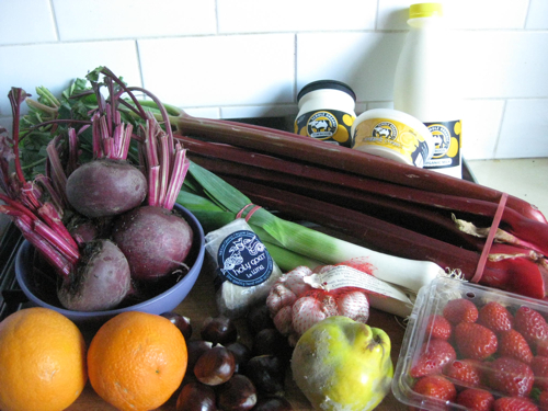 Farmers' Market haul