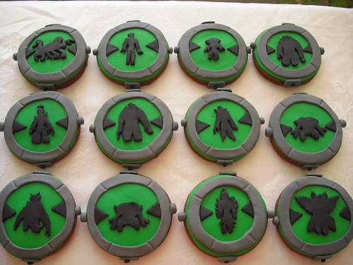 Ben10 Alien Force cookies