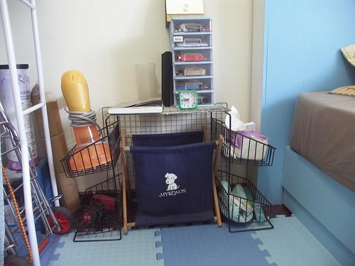 10自製床邊小桌