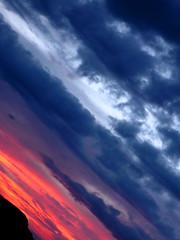 º (aLejandro portfolio) Tags: city pink blue sunset summer españa orange sun mountain tower church azul landscape atardecer town spain europa europe iglesia rosa ciudad paisaje verano naranja antenna nube málaga antenas clow soleado montaas