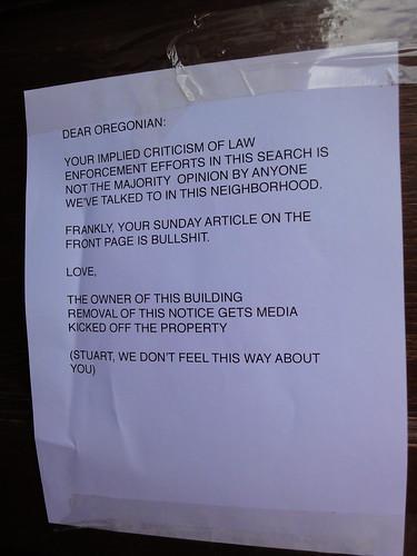 Oregonian Note