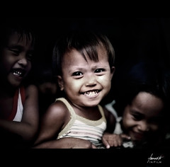 Poetry in the Streets of Poverty // Film (Tomasito.!) Tags: poverty portrait baby film children nikon asia poetry fuji child god philippines poor smiles streetphotography photojournalism happiness manila fujifilm f2