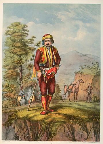 004-Jefe de bandoleros turcos-The oriental álbum 1862- J.H. Van Lennep