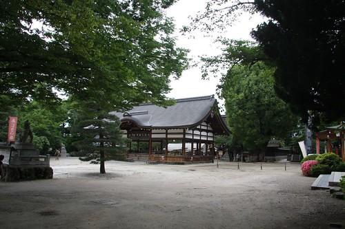 藤森神社境内