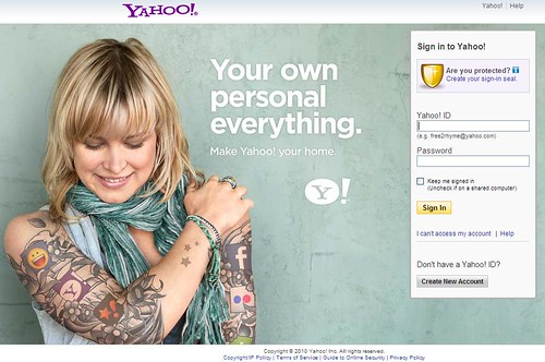 Yahoo! gets personal