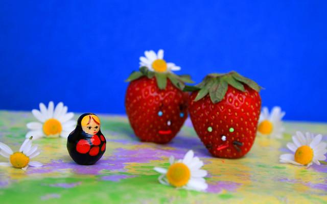 Strawberries Love story