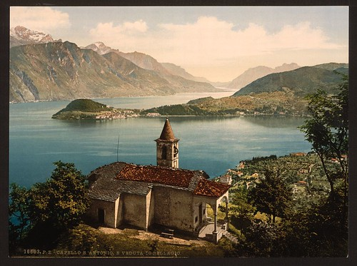 [Capello St. Angelo and view of Bellagio, Lake Como, Italy] (LOC)
