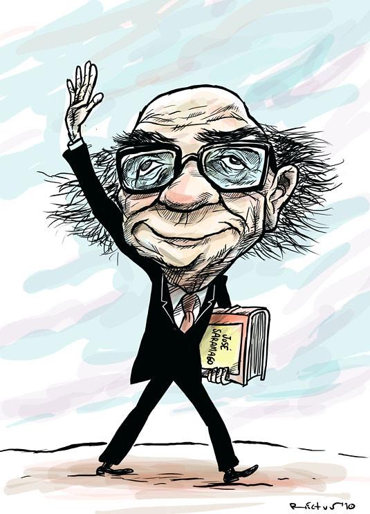 """""""José Saramago"""" por Rictus (19-06-10)"""