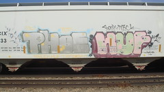 Phoe & Huf (Fr8 Fiend) Tags: train nbc graffiti graf graff hopper freight fr8 bosk ncix hufer pkoek