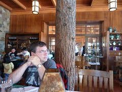 Steve waits for lunch