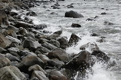 Rocky Atlantic Shore (Gaz-zee-boh) Tags: ocean travel ireland sea water rock coast seaside waves atlantic boulders shore foam seashore atlanticocean coclare d40 5photosaday nikond40 almostanything liscannorbay