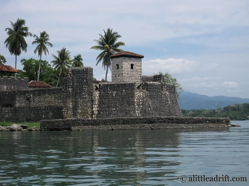 Castle on the Rio Dulce