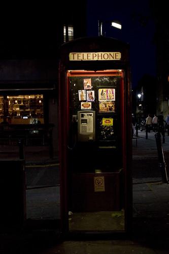 D1 / phone sex box