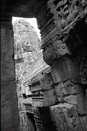 Bayon - the face of Avalokitesvara