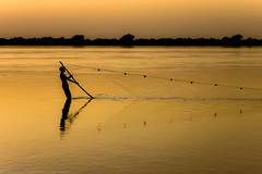 Updated: Fishing in Atbara (southwest_photographer) Tags: sunset river landscape outdoors fishing nikon sudan bedouin dpe rivernile atbara d40 nikond40 d40stuff dpexperience atbarariver