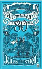 Around the world in 80 days (lorryx3) Tags: blue elephant vintage book cover jules bookcover julesverne verne aroundtheworldin80days