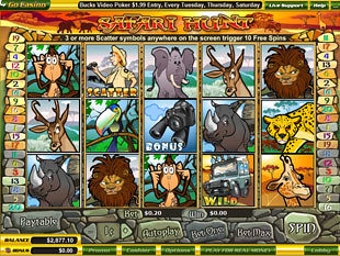 Safari Hunt slot game online review