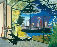 Dexter Dalwood - Kurt Cobain's Greenhouse