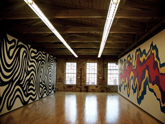 Sol Lewitt: Late-Career (sunshine in wonderland) Tags: art sol wall museum colorful drawings dual mass moca lewitt