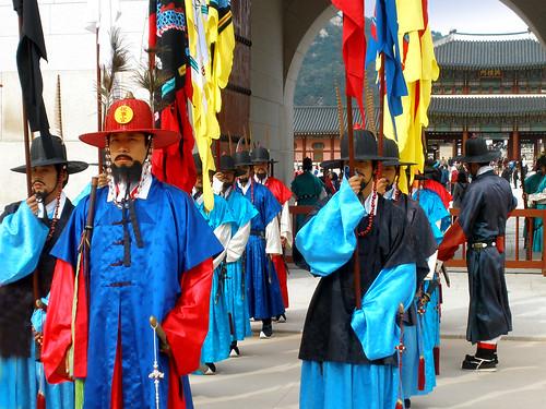 Changing of the Guard @ Gyeongbokgung