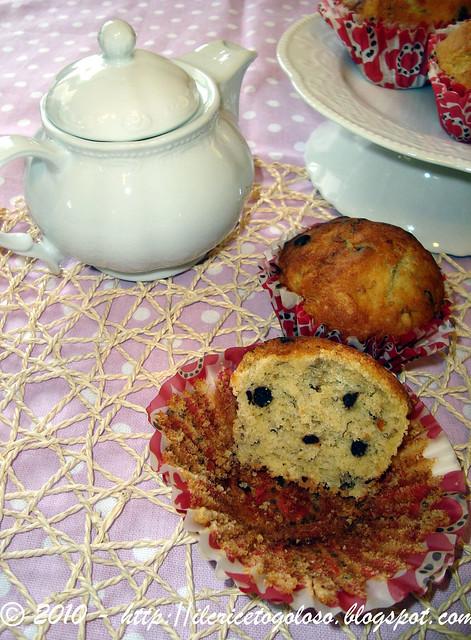 Muffins gluten free alla banana e gocce di cioccolato 2