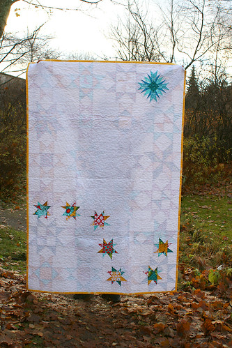 Star Bright Quilt back