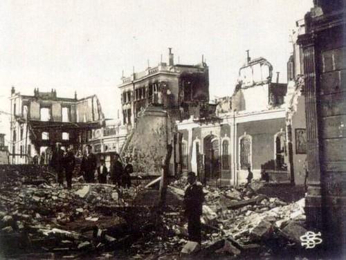 Yangından sonra Amerikan Konsolosluğu