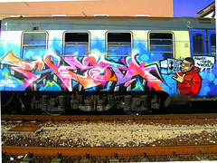 Ghetto blasta! (on explore) (Phiesta's way) Tags: rome roma train funky hiphop hip bboy ghettoblaster phiesta criminalscrew