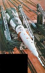 N1-L3 Moon Rocket Transporter-Erector