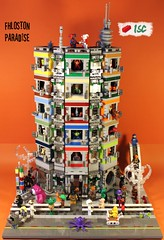 Fhloston Paradise (I Scream Clone) Tags: star paradise lego alien jedi scifi wars tardis twilek fhloston