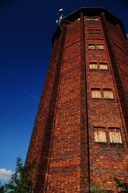 wieża ciśnień na Olechowie