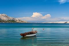 img (7) (-Ruckmann-) Tags: croatia hrvatska dalmatia mediterranean jadran adriatic water boat fishermanboat blue green turquoise bluesky clouds spring mountains pag islandofpag