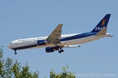 Bolivana de Aviacion 767 cp-2881 (merlyn.pauley) Tags: madrid madridbarajasairport airport spain bolivanadeaviacion 767 cp2881 boeing