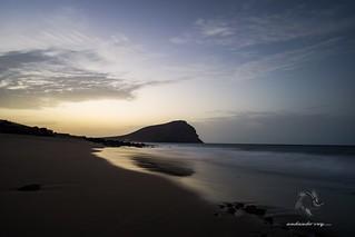 Playa La Tejita y Montaña Roja