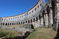 Pula Arena (Walruscharmer) Tags: pulaarena romanamphitheatre historicalsite pula istria croatia