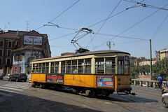 Still going after ninety years (Chris Firth of Wakey.) Tags: milan tram tram1835
