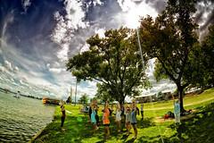 Reaching Higher (/\ltus) Tags: summer summercamp campchampions texas marblefalls yoga sony a6300 hdr internalhdr