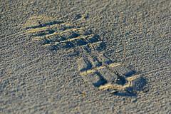 He Really Left His Mark (gendarme02) Tags: footprint street sidewalk pavement