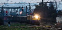 E-3017 con el convoy de Tecdra (RobertoVMF) Tags: tecdra railroad rengo rail railway railfans tren train terrasur transap trenes station electric