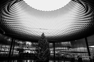 Messeplatz - Basel in B&W